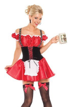 Wholesale Beer Girl Costumes HS8910