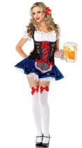 Wholesale Beer Girl Costumes HS13036