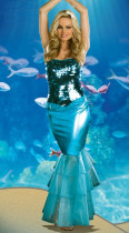Wholesale Mermaid Costumes HS0078