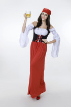 Wholesale Beer Girl Costumes HS15091
