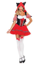 Wholesale Little Red Riding Hood Costumes  HS8936