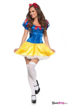 Wholesale Halloween Costume Snow white Costume HS8572