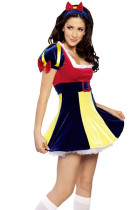 Wholesale Halloween Costume Snow white Costume HS00120