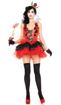 Wholesale Clown Cosplay Clothing Halloween Costumes HS0065