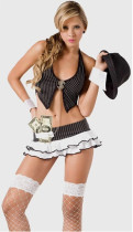 Wholesale cute school girl Costumes HS8895