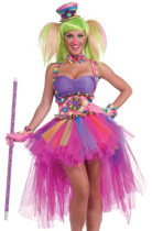 Wholesale Clown Cosplay Clothing Halloween Costumes HS8771