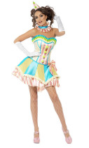Wholesale Circus Cosplay Clothing Halloween Costumes HS5856