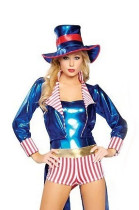 Wholesale Circus Cosplay Clothing Halloween Costumes HS9012