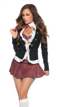 Wholesale cute school girl Costumes HSB796
