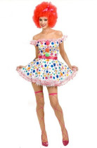 Wholesale Circus Cosplay Clothing Halloween Costumes HS0056