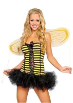 Wholesale Bee cosplay costumes Halloween Costumes HS1128