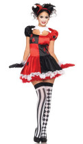 Wholesale Clown Cosplay Clothing Halloween Costumes HSMG16