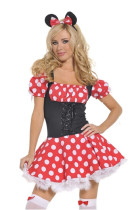 Wholesale kawaii minnie dress  HS00365