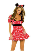 Wholesale kawaii minnie dress  HS21084