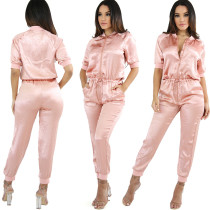 Loose Style Fashion One Size Jumpsuits & Rompers Y028