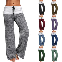 Sexy Loose Yoga Pants DL8382
