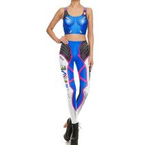 Sexy Two Pieces Yoga Set(pant+vest) NDB1641-3004