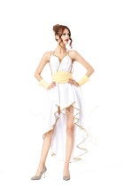 White Sexy Greek Goddess Costumes HS8840