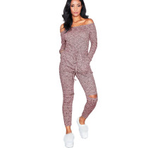 Off Shoulder One Piece Thin Jumpsuits & Rompers QZ666