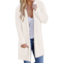 Super Soft Long Sleeve Open Hoodie Cardigan SR1135
