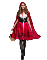 Red Sexy Little Red Riding Hood Costumes HS9013