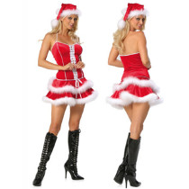 Christmas Red Costumes MLY1204