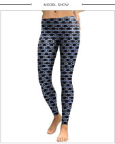 Overwatch Character Expression Printed Leggings NDB1885