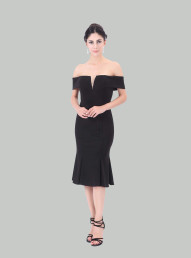 Off shoulder Evening Dresses Advanced Customization