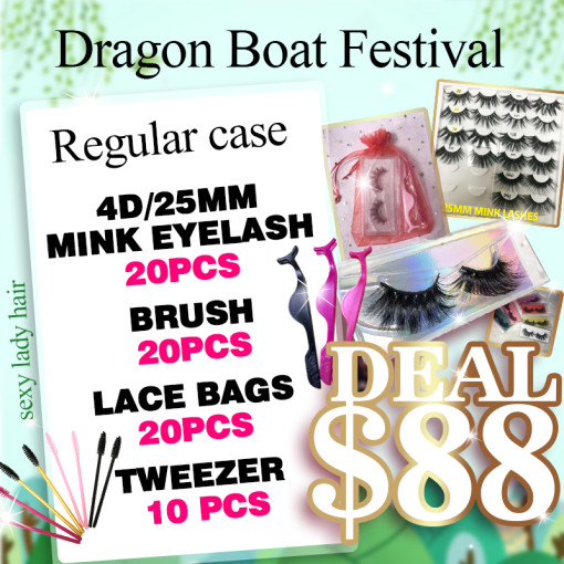 Dragon Boat festival 25mm lashes deal