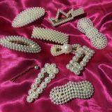 white Pearl hairpins