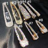 colorful diamond hairpins