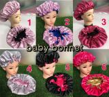 NO Logo Children double layers bonnets