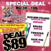 4D 5D lashes best deal