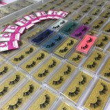Print logo mink lashes JULY DEAL