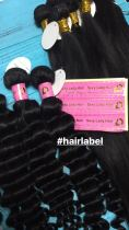 Print logo /name Hair lable /wraps