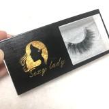 Print logo best 4D5D lashes deal for regular box