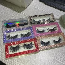 Colorful glitter box Mink lashes