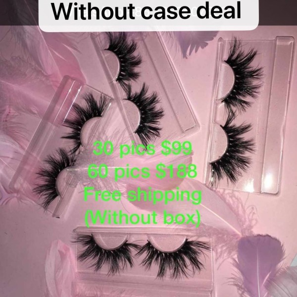 Without case lashes hotsale deal
