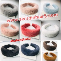 Fur headband wholesale