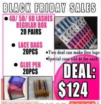 Black Friday sales  mink eyelashes