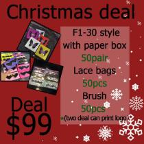 3d lashes Christmas sales