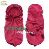With Button long Bonnet