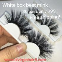 white tray mink lashes hotsale deal