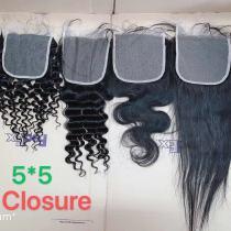 5x5 top lace closure