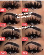 best 25mm mink lashes hotsale deal