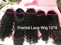 Frontal Wig transparent lace hotsale