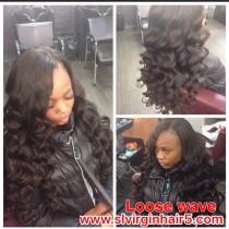 Raw Loose wave hair