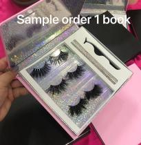 Book Sample order :Best mink lashes & glue