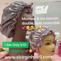 sample order :mommy and me bonnets activity