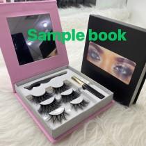 mirror eye Book Best mink lashes & glue